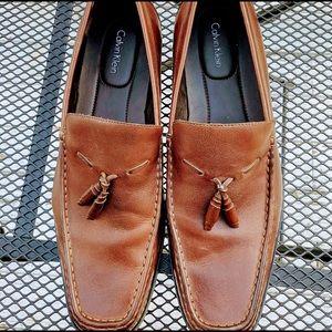 Calvin Klein sefton men's leather loafers size 13